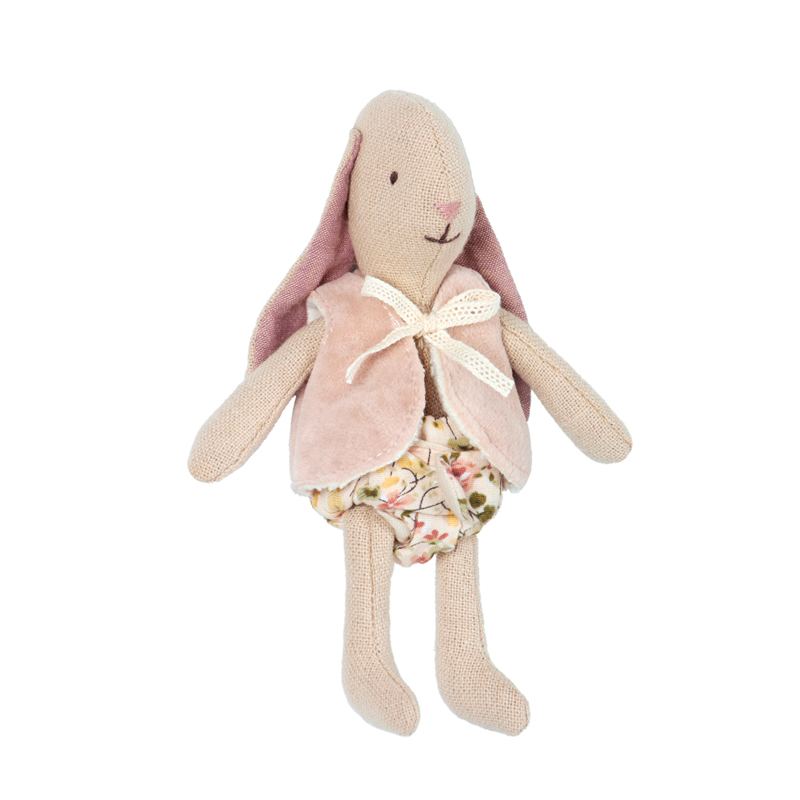 Pip and Sox - Maileg Micro Bunny with Vest - Danish Design