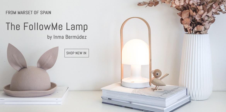 Pip and Sox - Marset FollowMe Lamp - Kids Interior