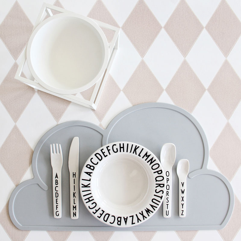 Pip and Sox Shop Design Letters by Arne Jacobsen Tableware Pip and Sox