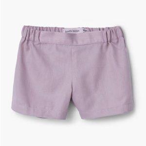 Pip and Sox La Petite Blossom - Rose Shorts