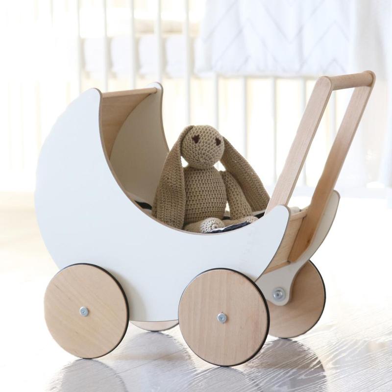 Ooh Noo Toy Pram Wooden Children S Toy Pip Amp Sox