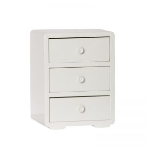 Maileg Wooden Dresser - White Colour - Pip and Sox - Maileg Australia