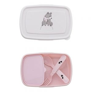Bloomingville Mini Bear Lunch Box with Cutlery - Pip and Sox