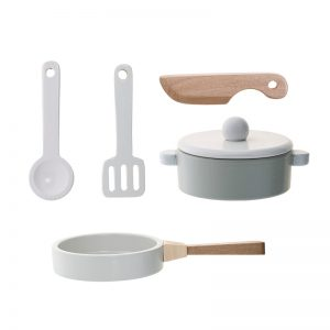 Bloomingville Mini Wooden Kitchen Utensil Set - Bloomingville Mini Australia - Pip and Sox