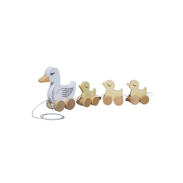 Bloomingville Mini Pull Along Duck Family - Pip and Sox
