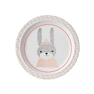 Bloomingville Mini Sophia Rabbit Melamine Plate - Pip and Sox