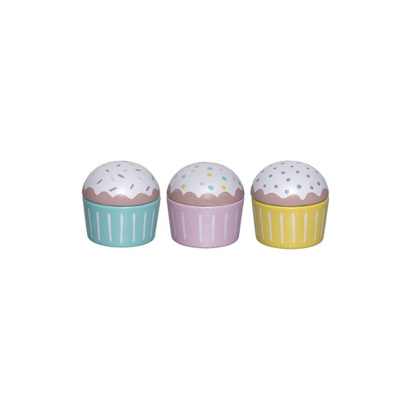 Bloomingville Mini Wooden Cupcakes - Pip and Sox