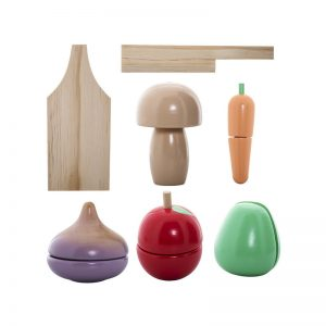 Bloomingville Mini Wooden Vegetable Set - Bloomingville - Pip and Sox