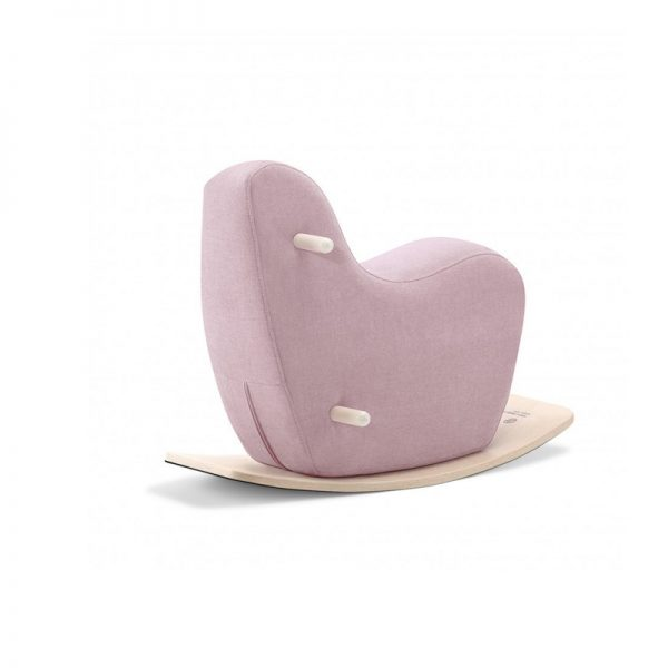 Ooh Noo toddler rocking horse - Pale Pink - Pip and Sox