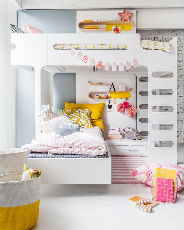 Pip and Sox - The Design Report - Shared Rooms - Kids Interiors