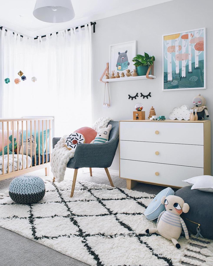 Pip and Sox - The Design Report - How To Create a Scandinavian Inspired Nursery For Baby - Kids Interior