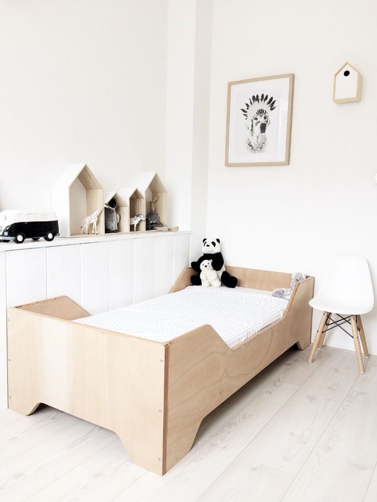 Monochrome Kids Bedroom: Styling Tips For A Modern Kids Room
