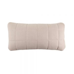 Bloomingville Quilted Wool Cushion - Rose - Pip and Sox