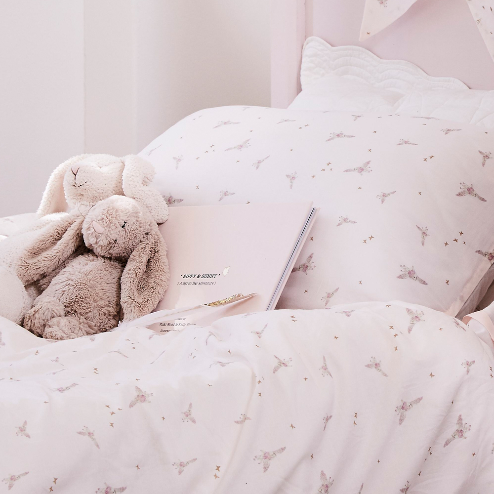 Pip and Sox - Bonne Mere Sippy Print Cot Doona and Pillow Set