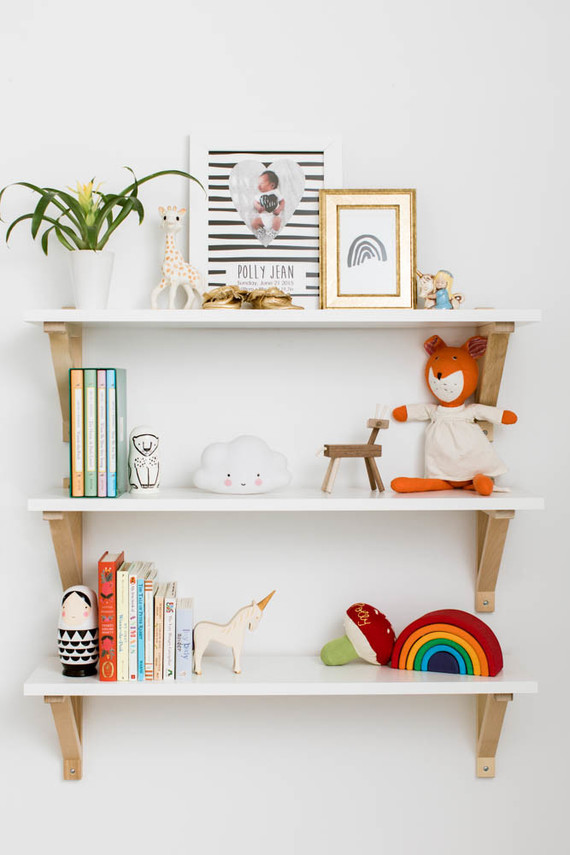 Finishing touches for nursery - shelf
