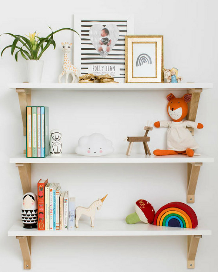 Finishing touches for nursery