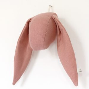 Fabels Bunny Head Dusty Pink - Small - Pip and Sox