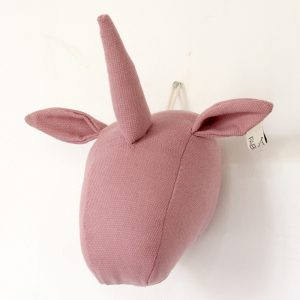 Fabels Unicorn Head - Dusty Pink - Small - Pip and Sox