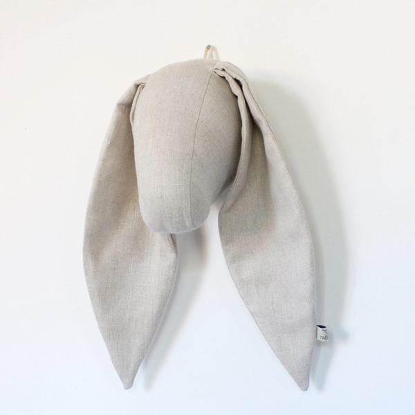 Fabels Bunny Head Wall Hanging - Ecru - Medium - Pip and Sox