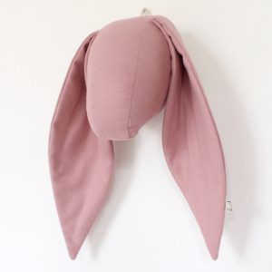 Fabels Bunny Head - Dusty Pink - Medium - Pip and Sox