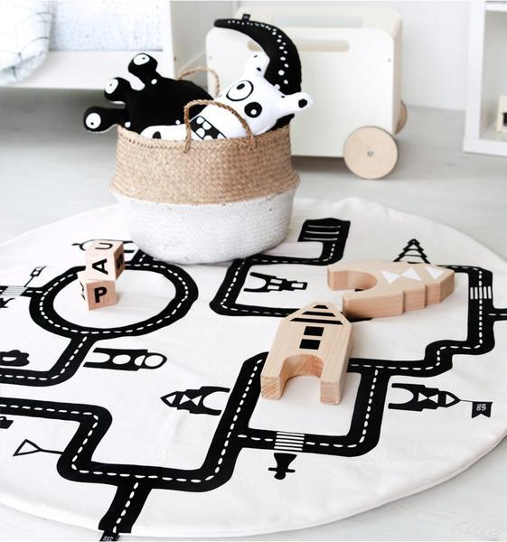 Ooh Noo Baby Playmat Little Village