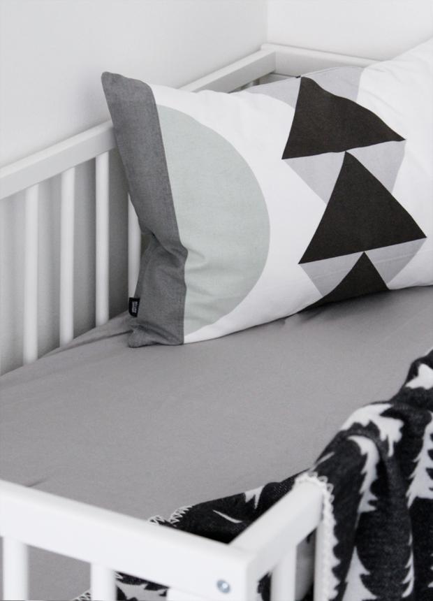 Scandinavian baby bedding - nordicday