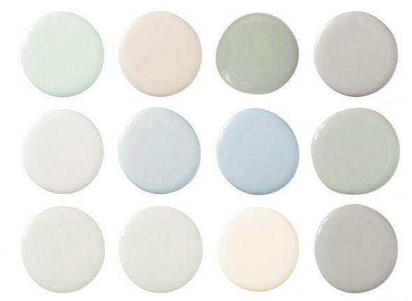 Tips for painting nursery - Scandinavian paint colours