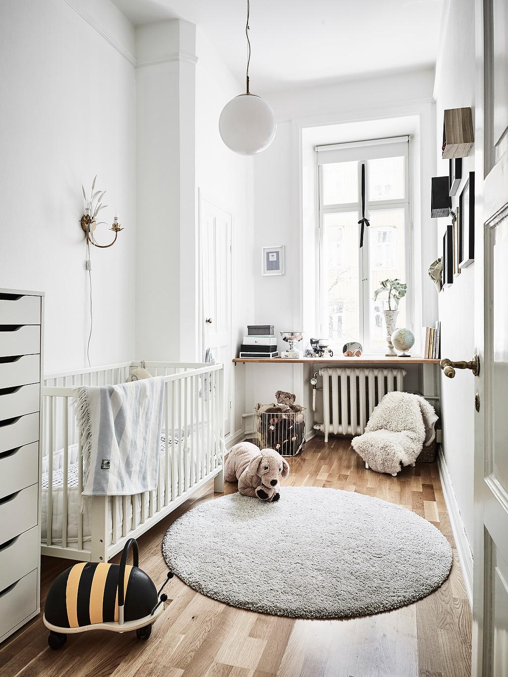 Scandinavian baby bedding