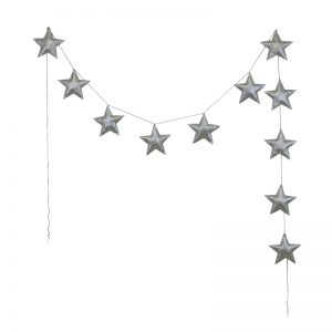 Numero 74 Mini Padded Star Garland - Pip and Sox - Numero 74 Australia
