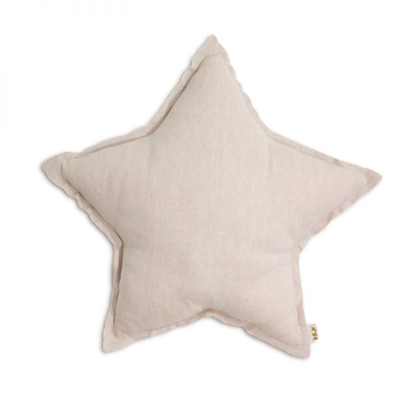 Numero 74 Star Cushion Small – Powder Pink – Pip and Sox