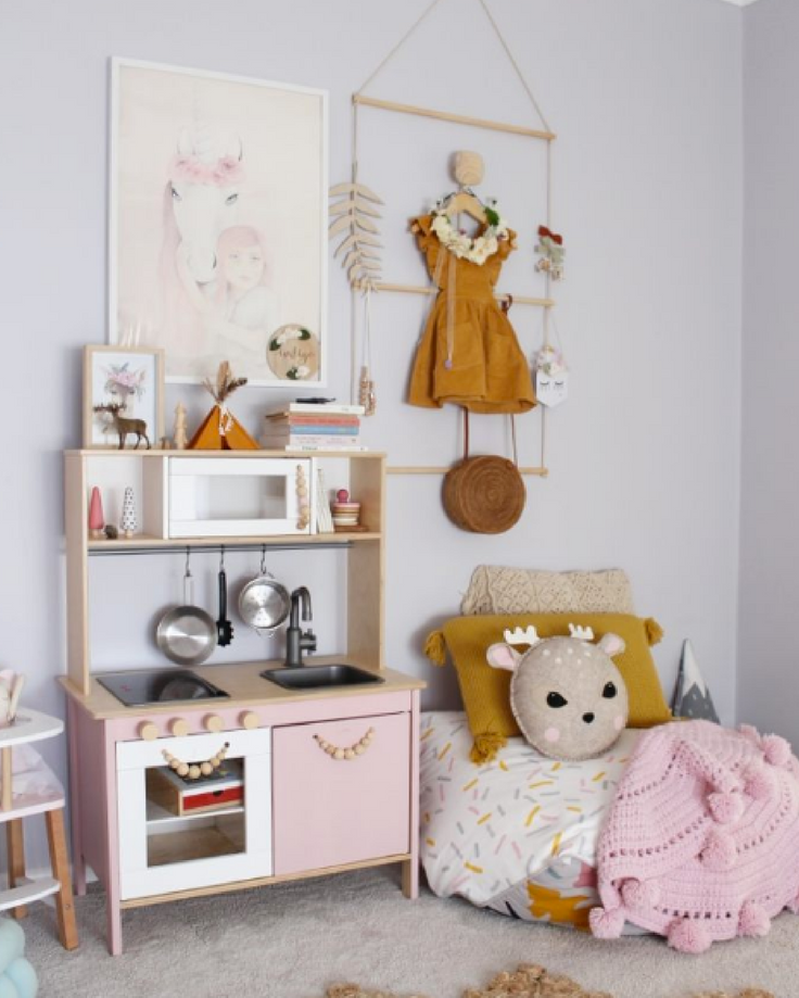 Play Kitchen Inspiration - Pip and Sox