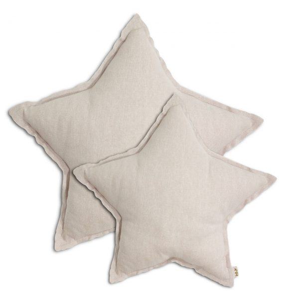 Numero 74 Star Cushion Small - Powder Pink - Pip and Sox