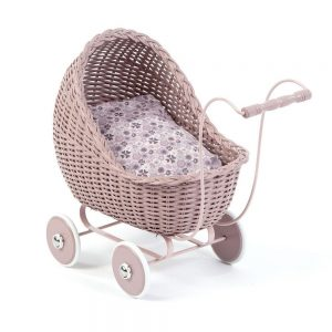 Smallstuff Doll's Pram - Powder - Pip and Sox - Smallstuff Australia