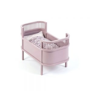 Smallstuff Rosaline Doll's Cot - Powder Colour - Pip and Sox