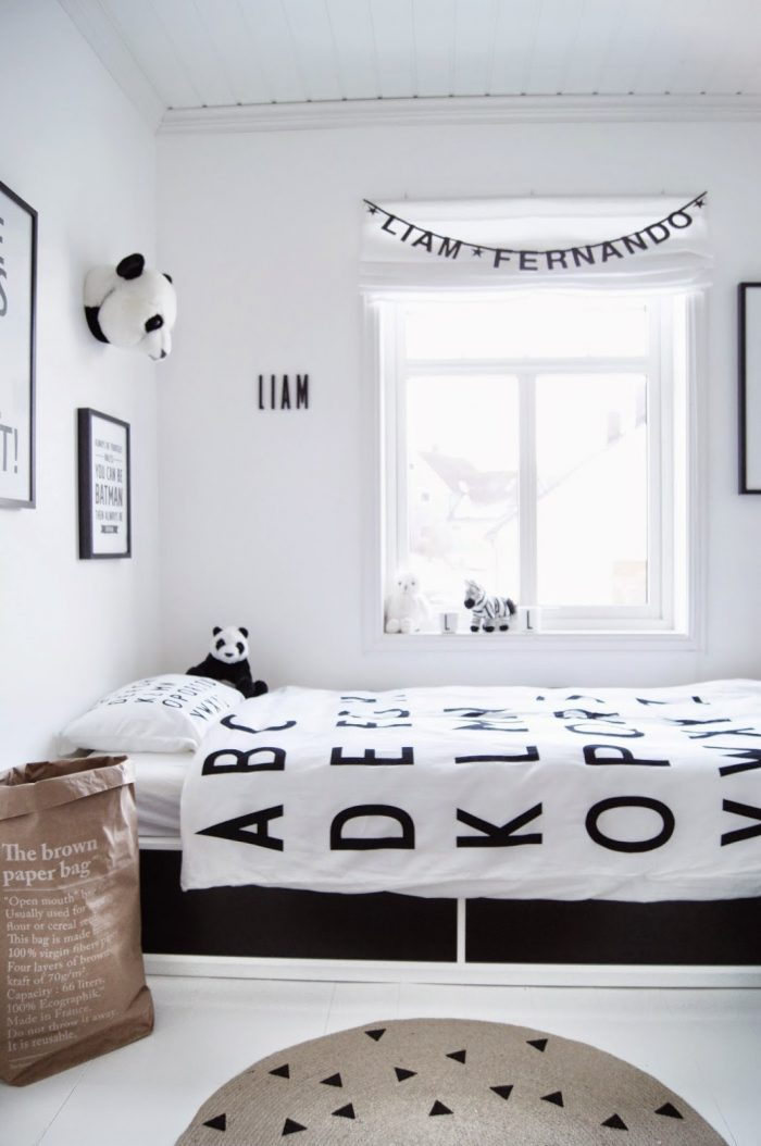 Animal themed bedroom ideas - panda