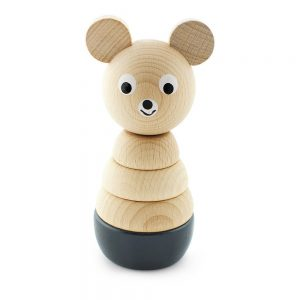 Pip and Sox - Wooden Bear