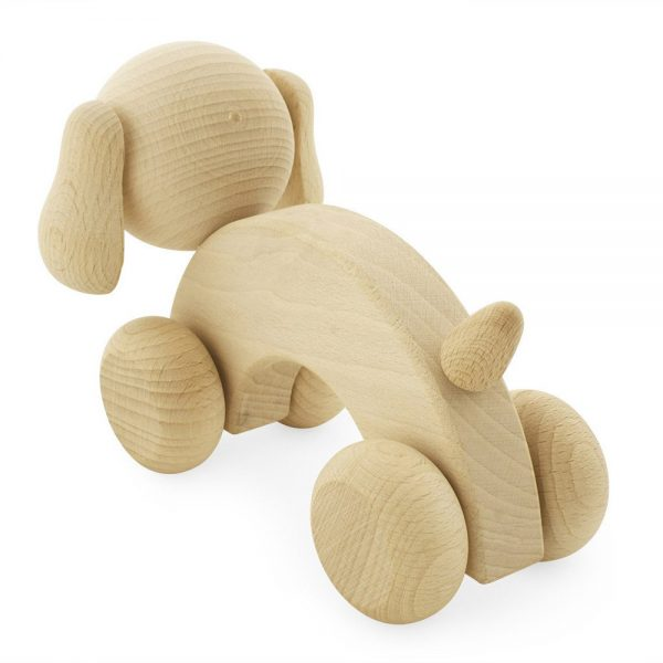 Pip and Sox - Wooden Dog
