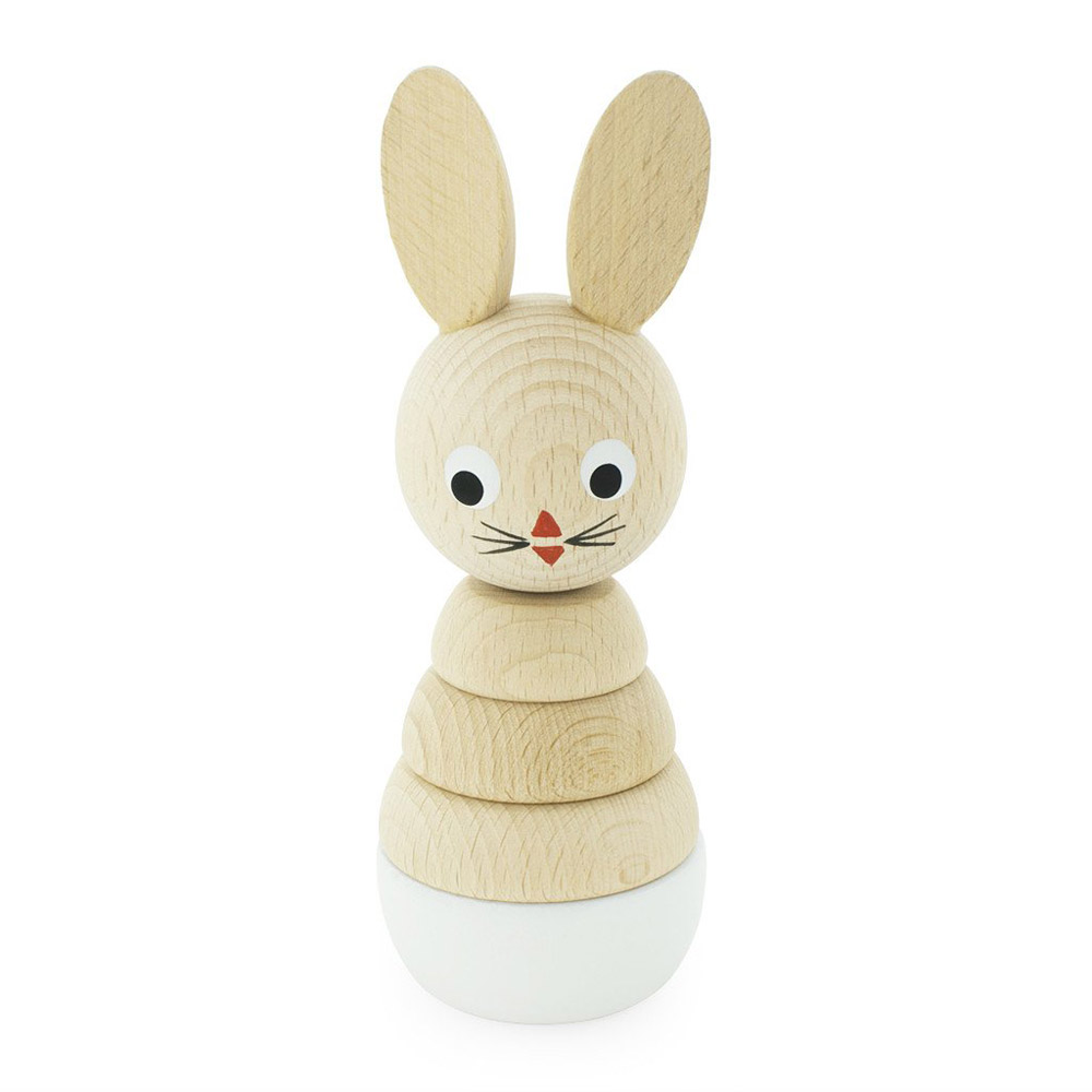 Pip and Sox Wooden Rabbit