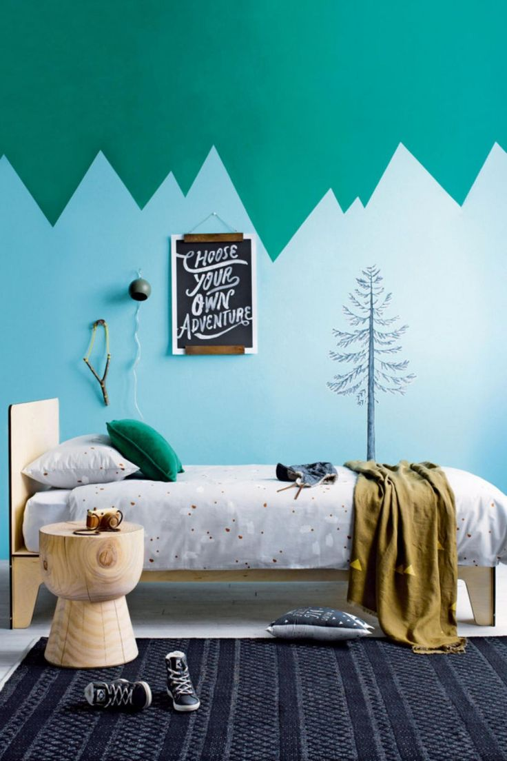 Cool Wallpaper Mountain Bedroom - Green-kids-bedroom-Image-Inside-Out  Photograph_474644.jpg