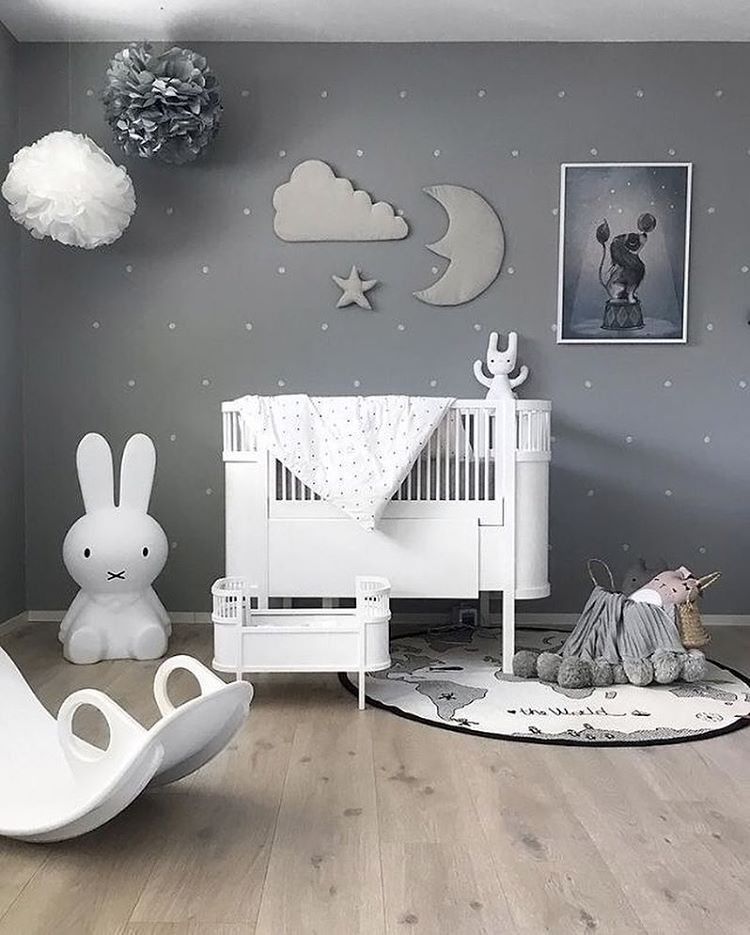 Gender Neutral Nursery Ideas - Shades of Grey