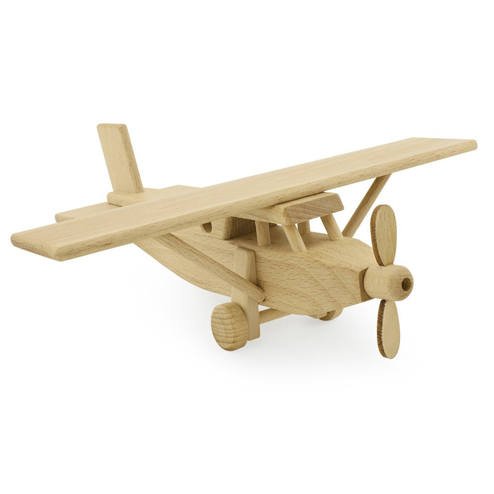 Ceeda Cavity Wooden Propeller Plane - Pip and SoxPip and Sox