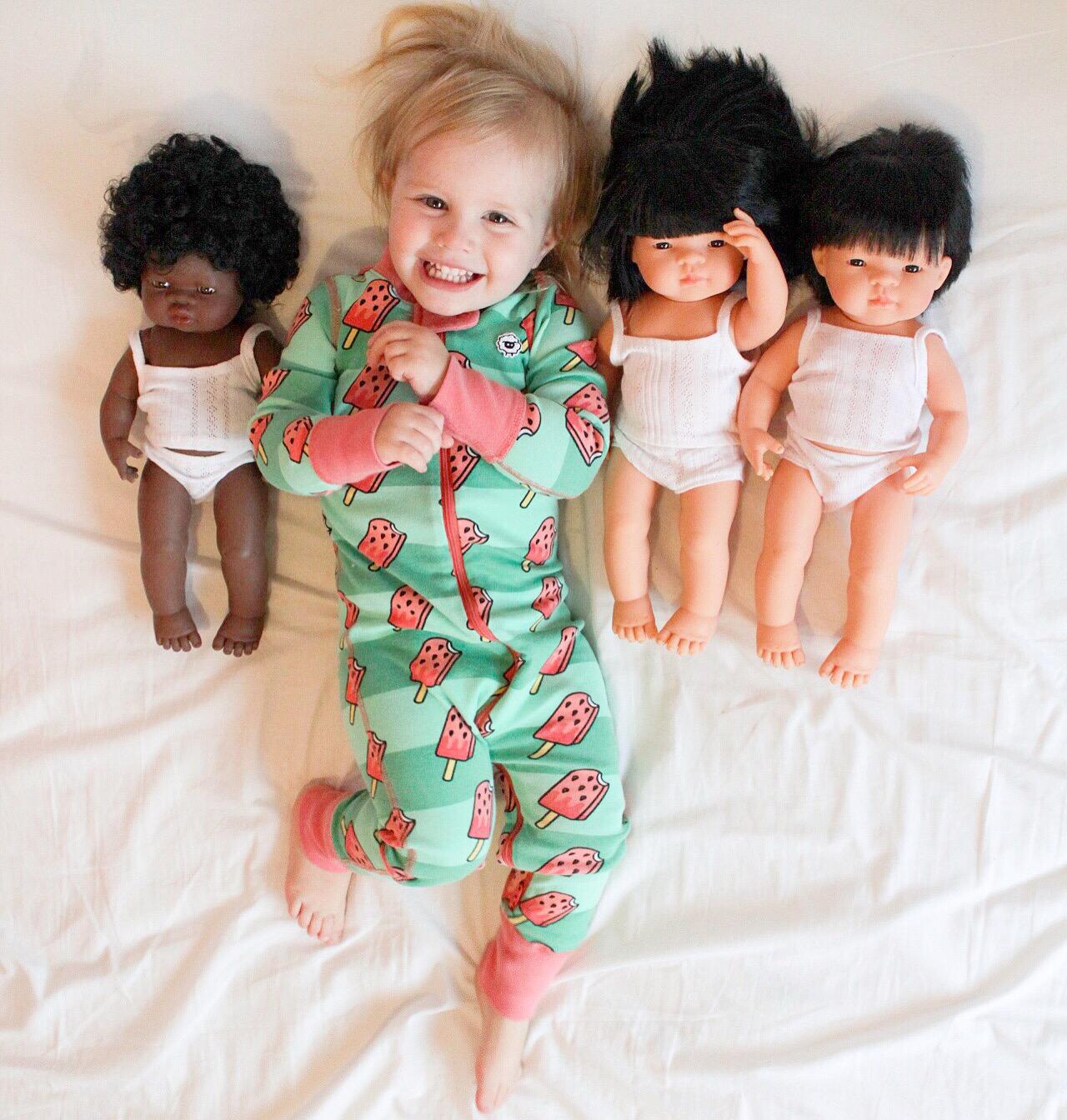Educational Toys - Miniland Baby Dolls