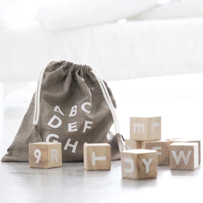 Educational Toys - Ooh Noo Alphabet Blocks