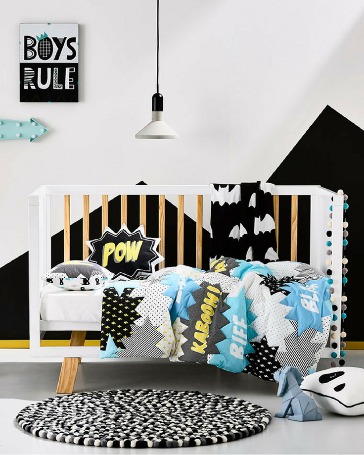 Superhero Bedroom Ideas for Kids - Pip and Sox
